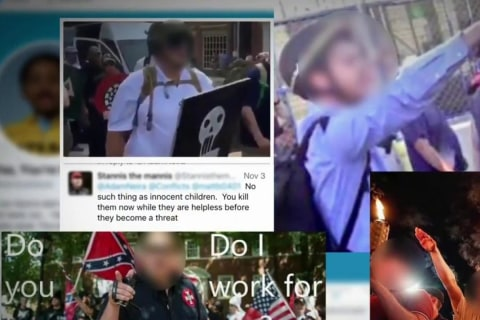 Social Media is Outing Charlottesville Protesters
