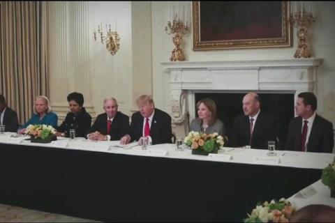 Amid Mass Exodus, Trump Disbands Two Business Advisory Councils