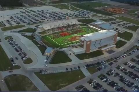 Record Amount Spent on Texas Football Stadium