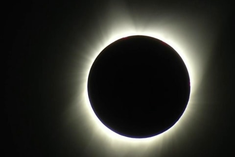 Watch The Total Solar Eclipse Move Across The U.S.