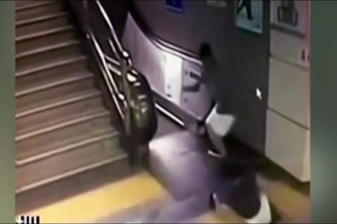 Commuter Vanishes as Floor Collapses in Chinese Subway Station
