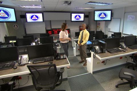 Amid North Korean Threat, Take a Rare Tour Inside Guam's Homeland Security Operations Center