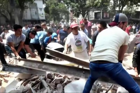 7.1-Magnitude Earthquake Rattles Mexico City