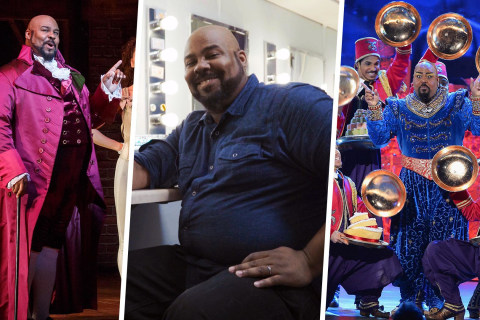 Inside the Dressing Room of Hamilton's James Monroe Iglehart