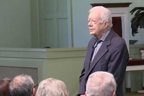Jimmy Carter Warns Against Provoking North Korea
