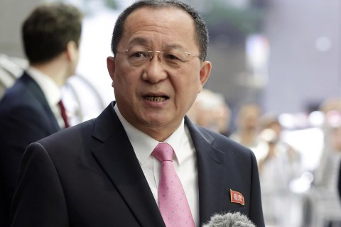 North Korean FM: Trump 'Declared War on Our Country'