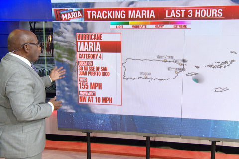 Maria Storm Surge Will Be 'Catastrophic,' Al Roker Warns