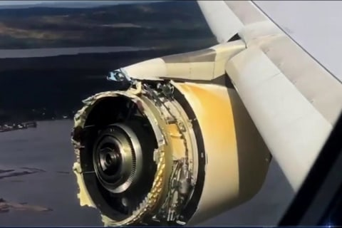 Investigation Launched Into 'Serious' Air France Plane Engine Failure