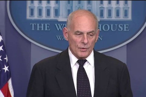 Gen. Kelly Defends Trump's Call to Fallen Soldier's Widow