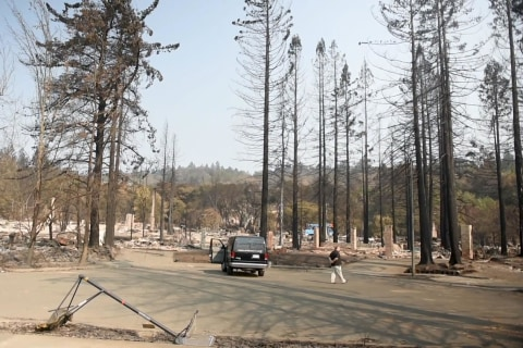 He Was Homeless. He Bought a House. Then Wildfires Destroyed It