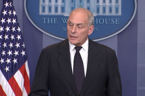 Watch Gen. John Kelly's Full White House Remarks on Troop Deaths, Condolence Calls