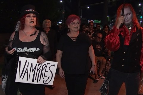 Vampires Walk Through the Valley in Honor of Tom Petty