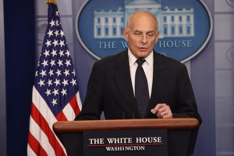 White House Chief of Staff John Kelly defends President Trump's call to soldier's widow