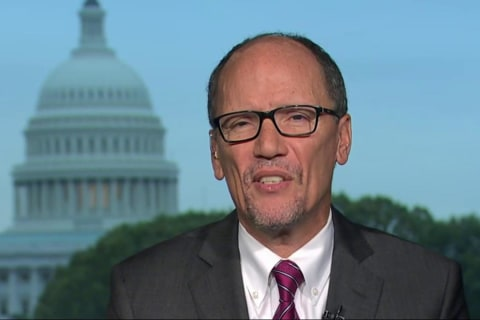 DNC chair reflects on party wins, says unity matters