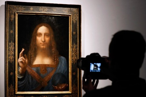 Is this painting worth $450 million?