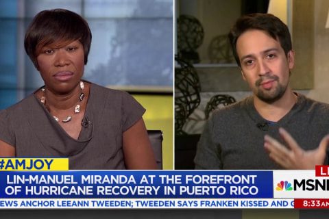 Lin-Manuel Miranda praises generosity for Puerto Rico, calls for debt forgiveness
