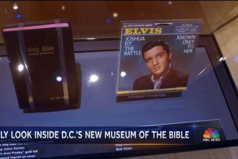 Museum of the Bible opens in Washington D.C.