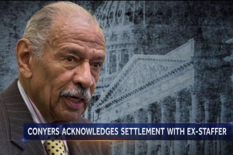 Conyers acknowledges settlement with former staffer, denies misconduct