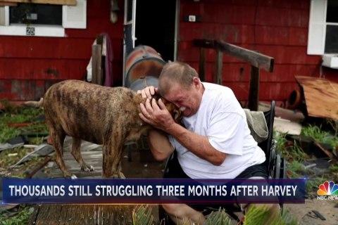 Hurricane Harvey is long gone, but Texas is still reeling
