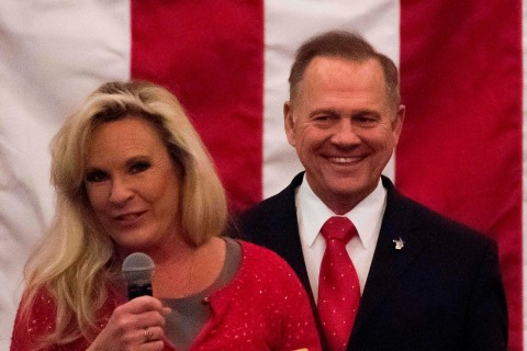 Roy Moore's wife condemns fake news, says 'one of our attorneys is a Jew'