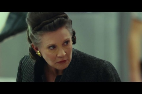 Carrie Fisher's final performance is now on the big screen
