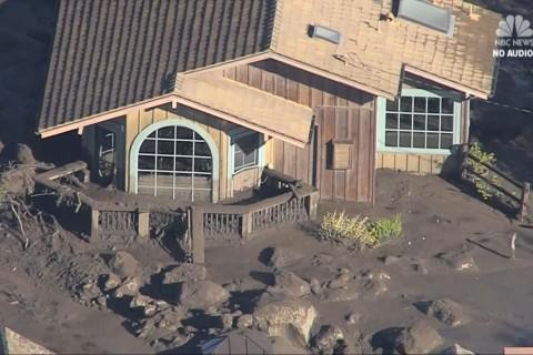Aerials show Montecito devastation after mudslides