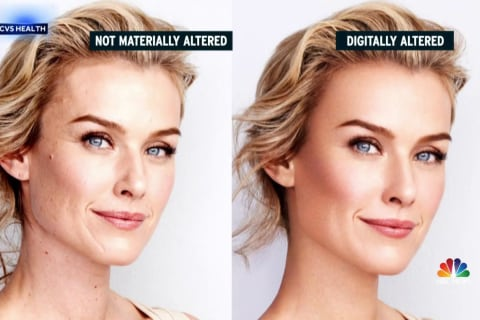 CVS to ban retouched photos from their advertisements