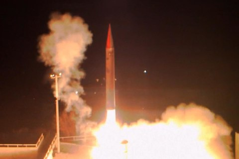 Israel tests weapon that can shoot down ballistic missiles