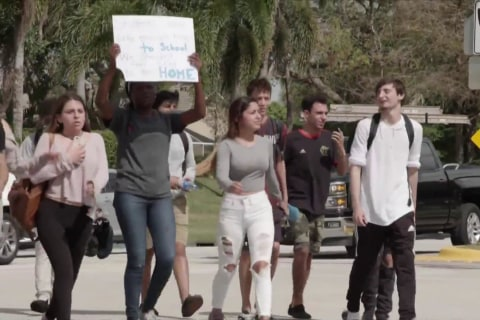 Students head to Florida State Capitol to meet lawmakers and protest