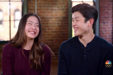 After placing 9th in Sochi, the Shib Sibs are back to compete in PyeongChang