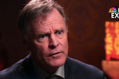 Fred Warmbier sits down with Lester Holt in South Korea, 8 months after son's death