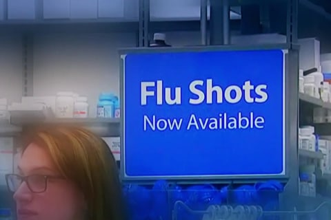Growing concern over children dying of the flu