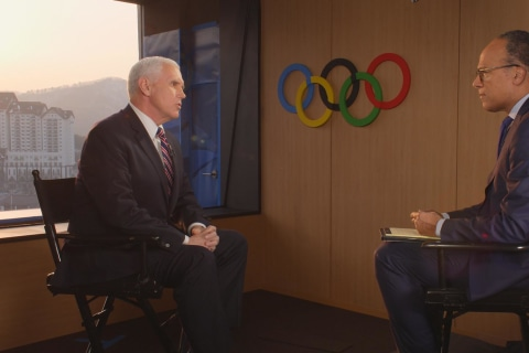 Full Interview: Vice President Mike Pence from PyeongChang