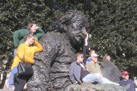 A stroke of genius: Einstein memorial launches 'Photos with Albert' campaign