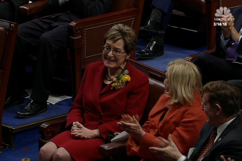 Kaptur honored before becoming longest-serving woman in House