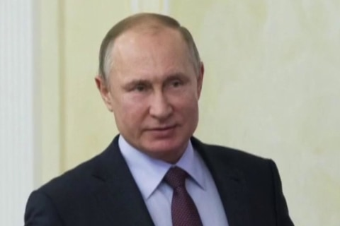 Putin officially wins fourth term as Russian president
