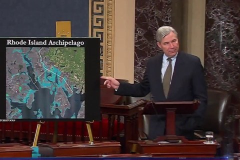 Sen. Whitehouse has made more than 200 speeches about climate change