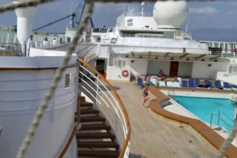 Passengers frustrated after cruise ship becomes 'construction zone'