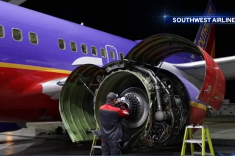 FAA orders emergency inspections after Southwest engine explosion
