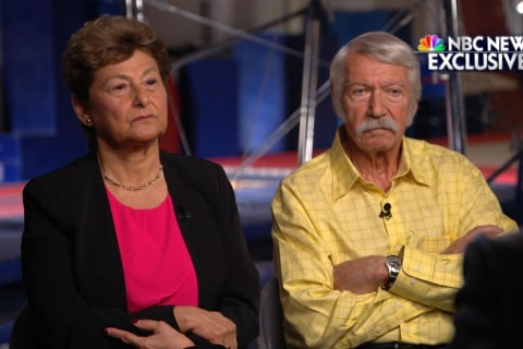 Bela Karolyi and Martha Karolyi deny knowledge of sexual assaults on gymnasts