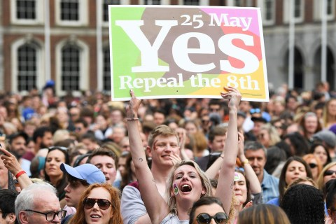 Ireland votes to repeal abortion law in landslide victory