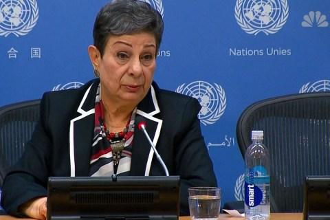 Nikki Haley not 'schoolmarm of the world': Palestinian official