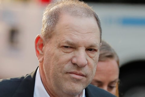 Harvey Weinstein surrenders to police on sex charges