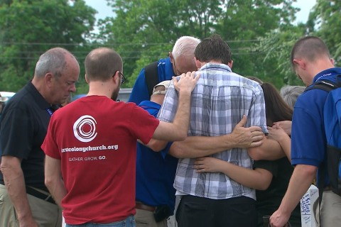 A moment of silence was held to honor victims of Santa Fe shooting