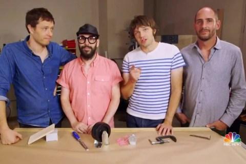 Rock band OK Go creates online resource to help educators teach science
