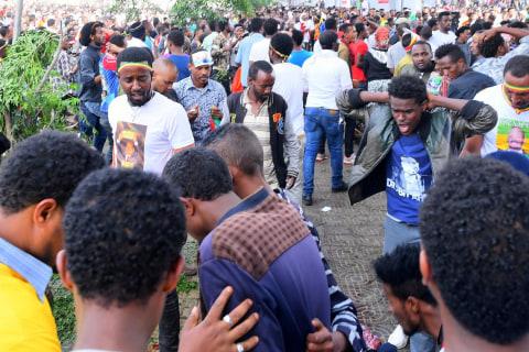 1 dead, dozens injured in blast at Ethiopian PM rally