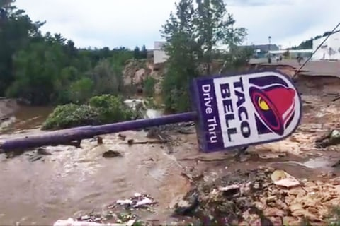 Michigan flash floods leave massive sinkholes, washed-out roads