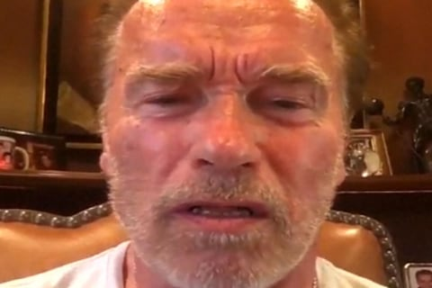 Schwarzenegger calls Trump 'a little wet noodle' and 'fanboy' over Putin news conference
