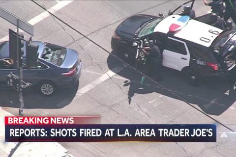 Shots fired at Trader Joe's in Los Angeles