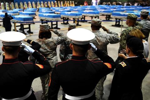 Fallen U.S. soldiers finally return from Korea